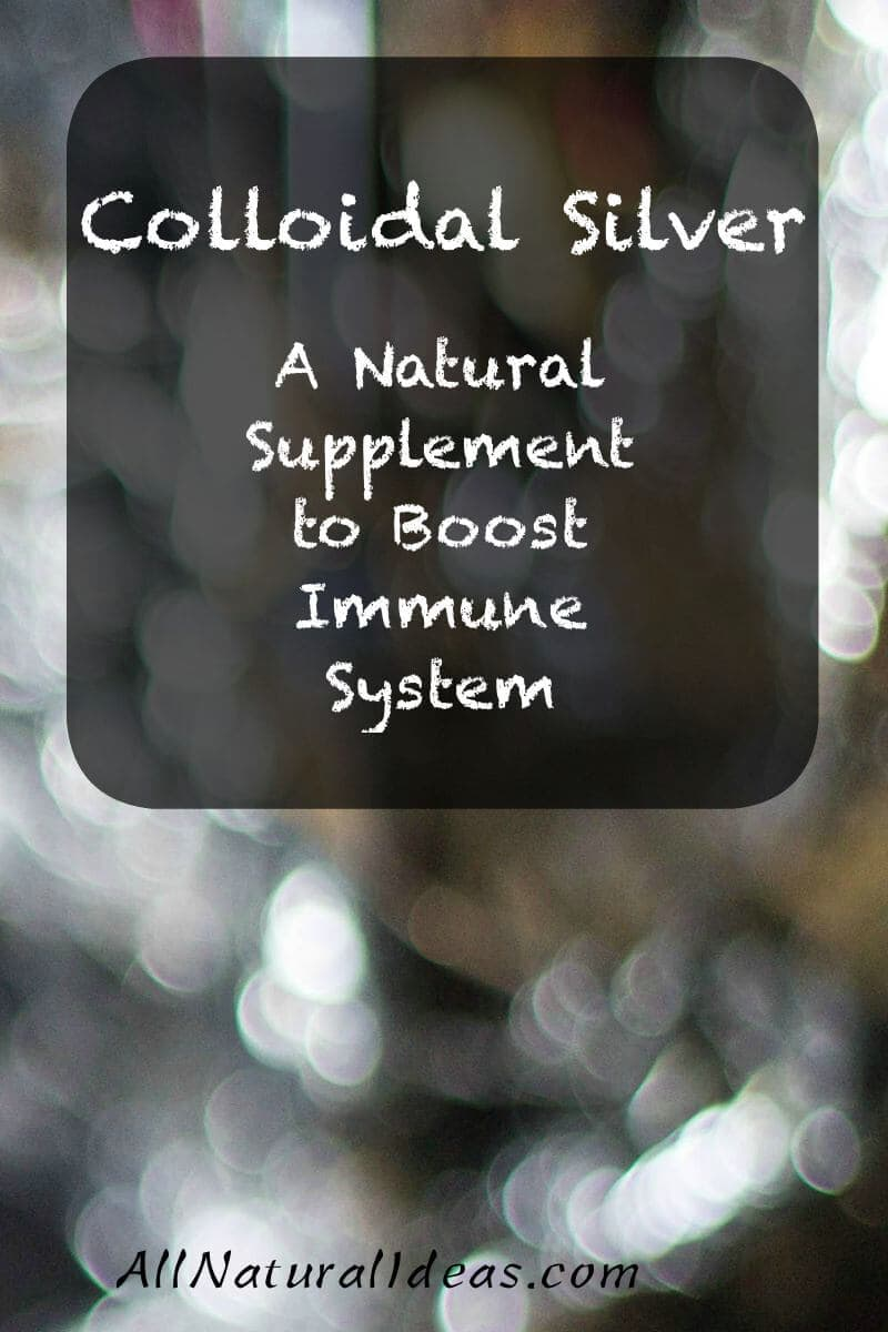 Colloidal silver natural antibiotic is oftened used in alternative medicine. It is a well known remedy to treat fungus, bacteria, and virus infections.