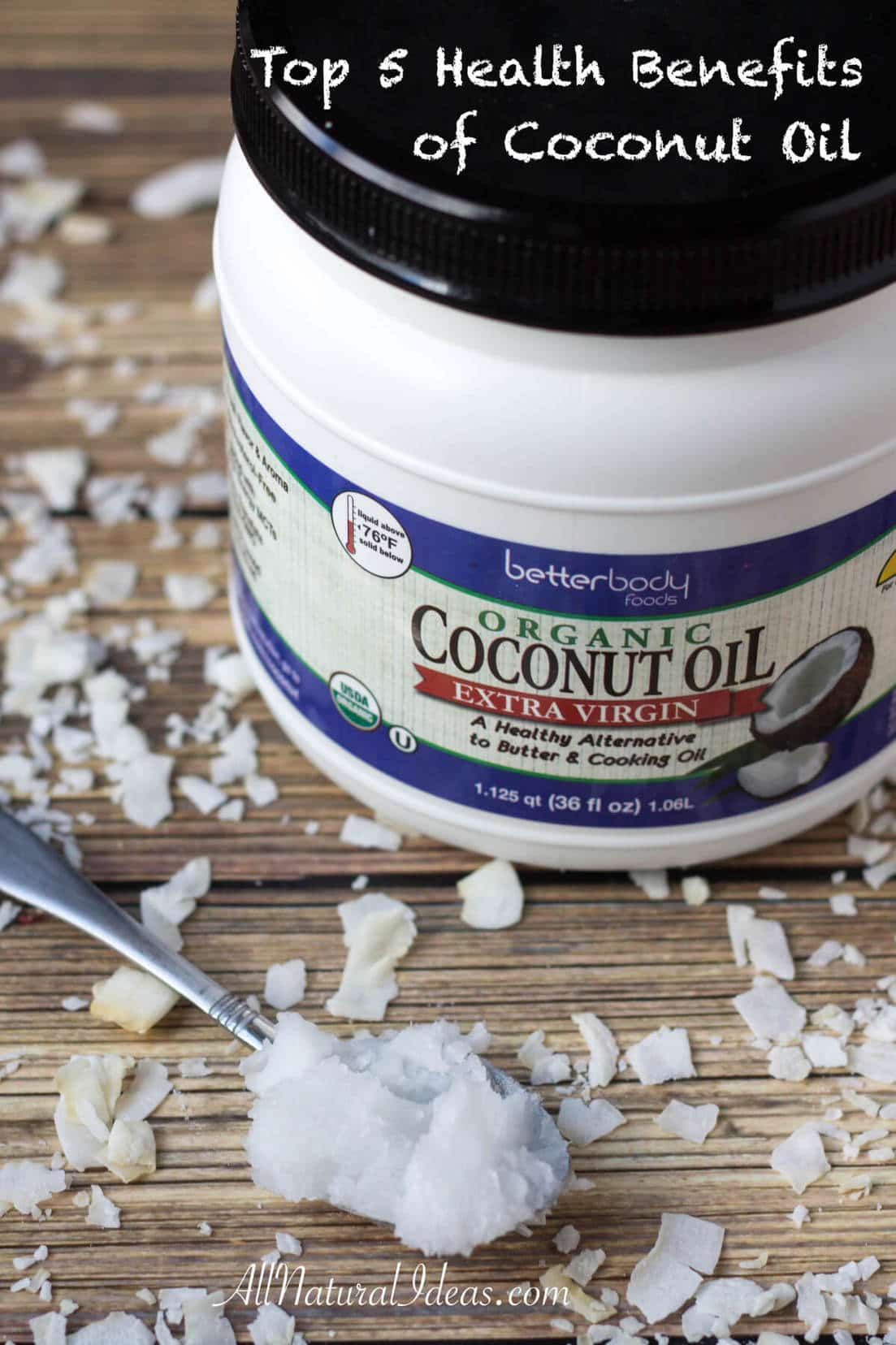 Top 5 Health Benefits of Coconut Oil