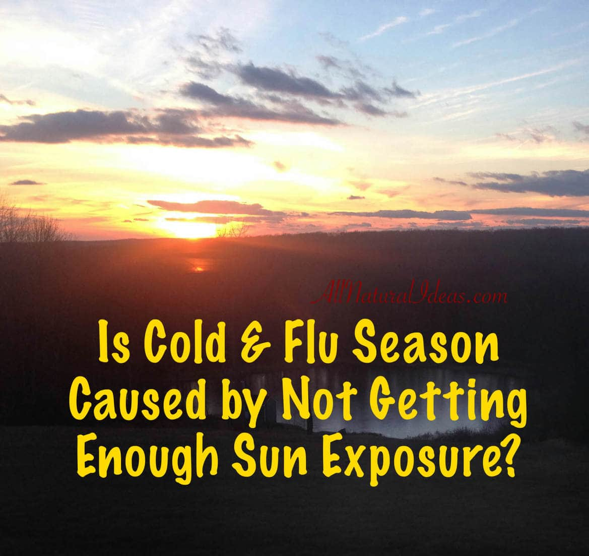 Vitamin D connection to Cold and Flu Season