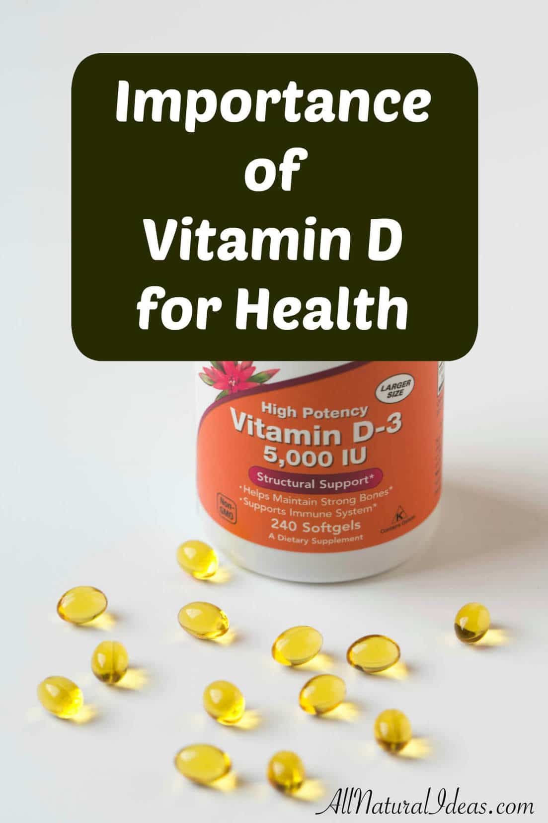 What are the vitamin D important functions for health? Vitamin D is needed for healthy bones and to help you fight off infections by boosting immune system.