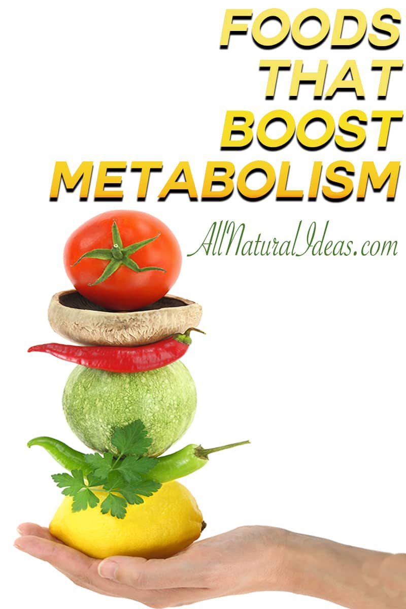 Need to shed a few pounds? Looking for metabolism boosting foods to help your weight loss? Some foods can help you burn fat faster!