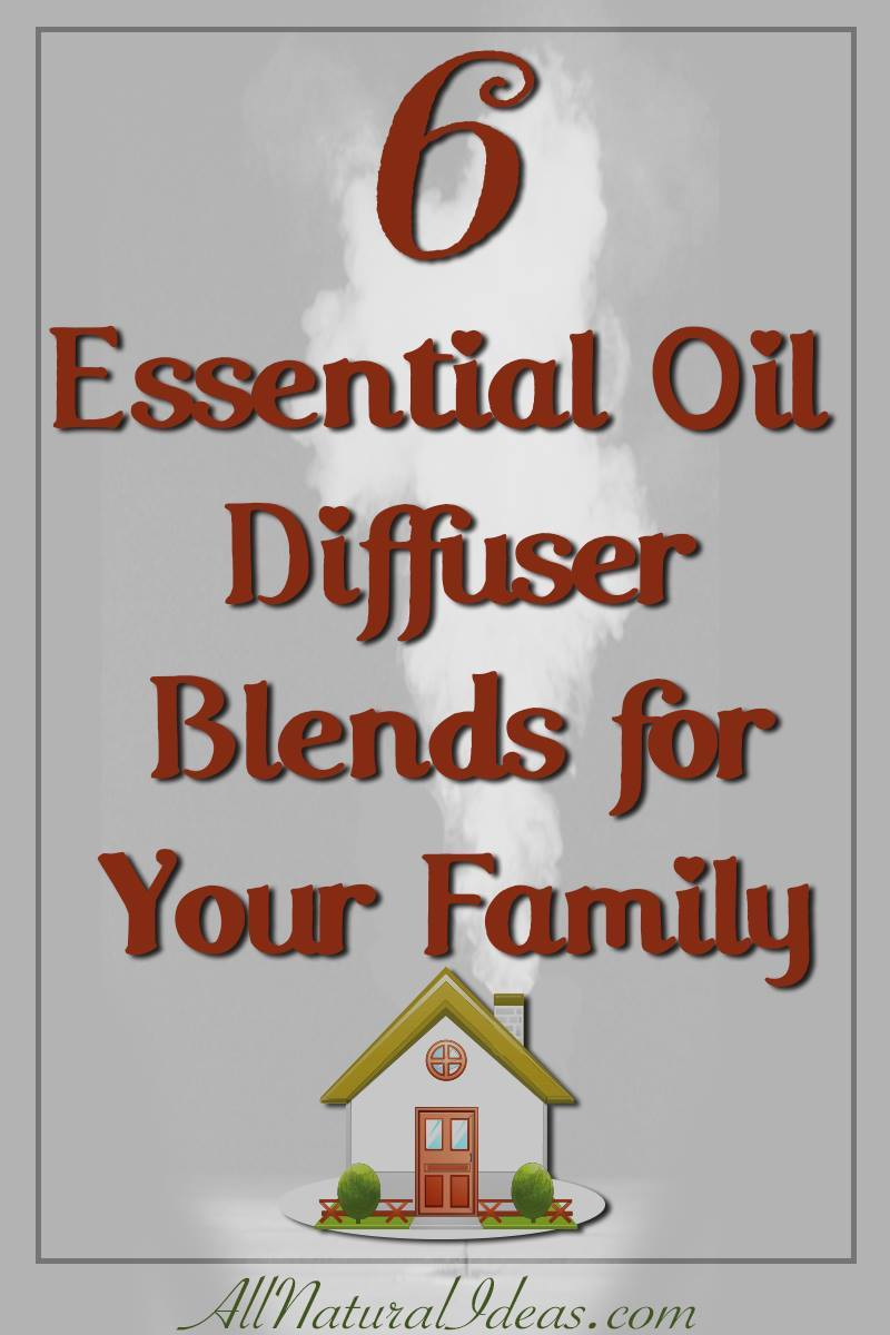 If you are just getting into essential oils, you may be looking for ways to blend the popular scents. Here's 6 essential oil diffuser family blends for your home.