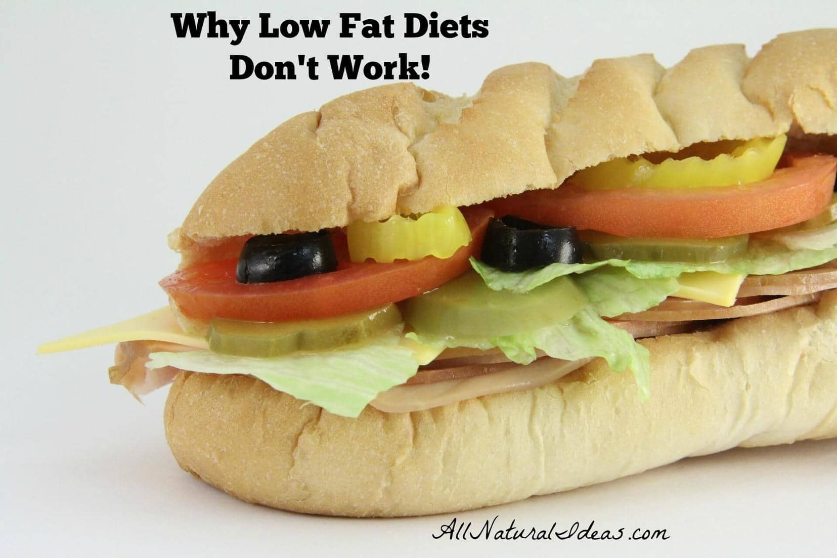 Are you struggling to lose weight on a low fat diet? Find out why low fat diets don't work long term to shed those extra pounds!