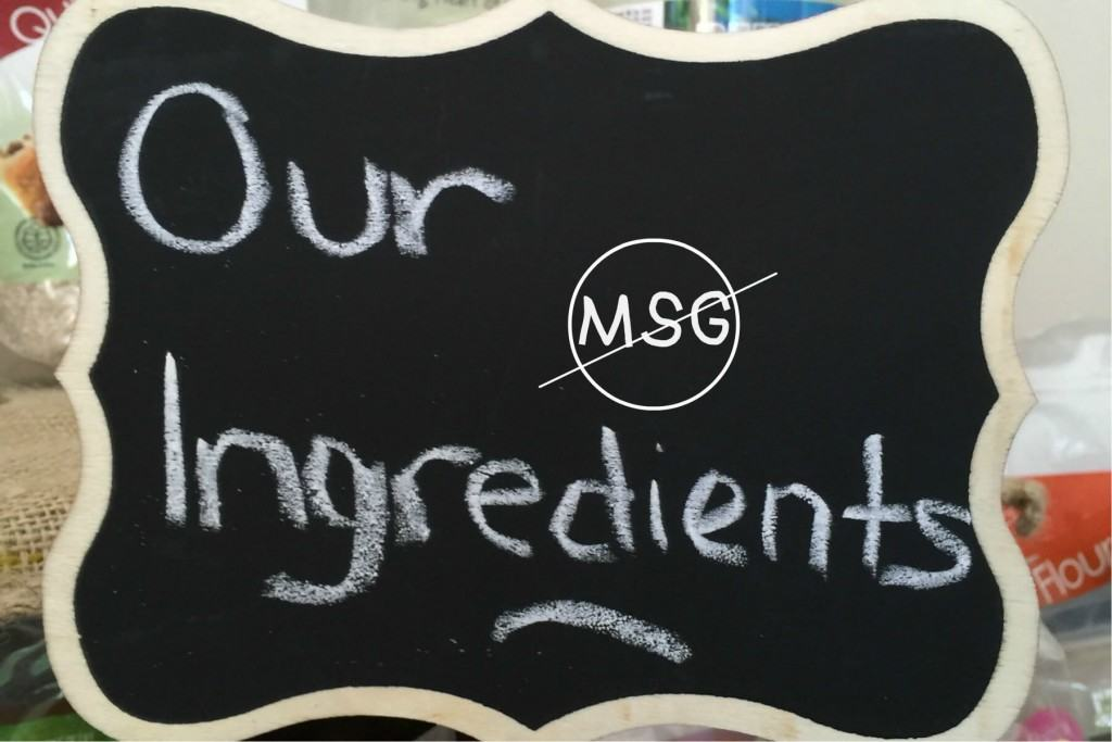 Avoiding MSG Potential Health Effects