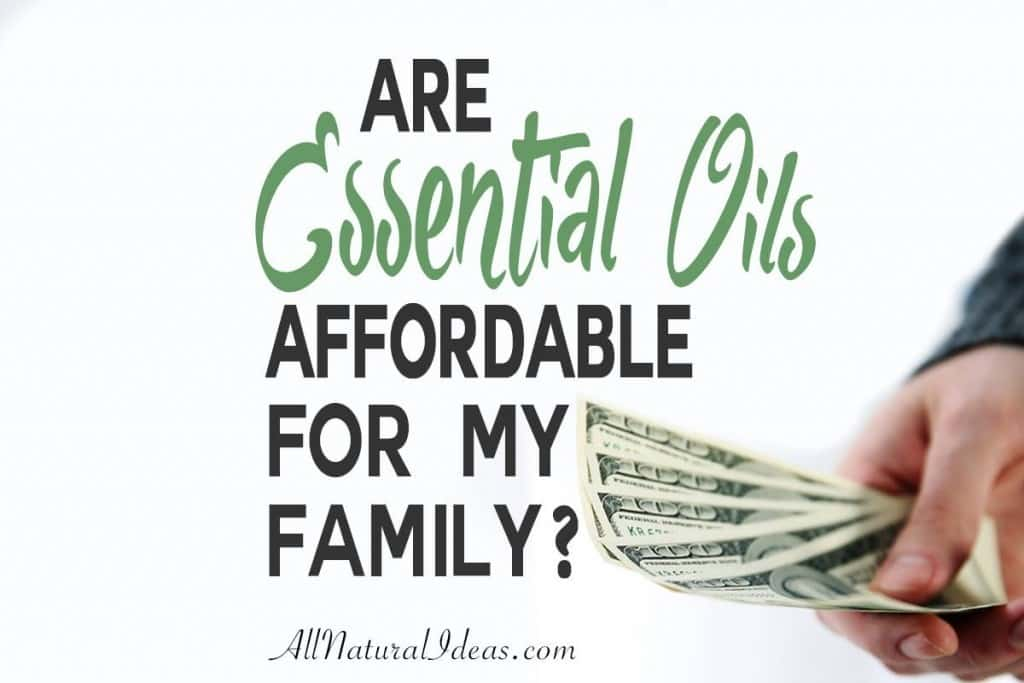 Are you looking to find affordable essential oils for your family? Here's a breakdown of the cost of using essential oils in your home.