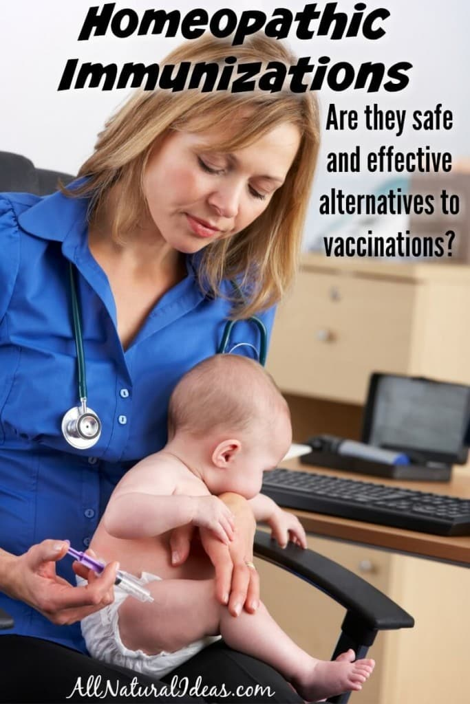 A homeopathic vaccine alternative is available called homeoprophylaxis which uses nosodes for immunizations. Is it safe and effective?