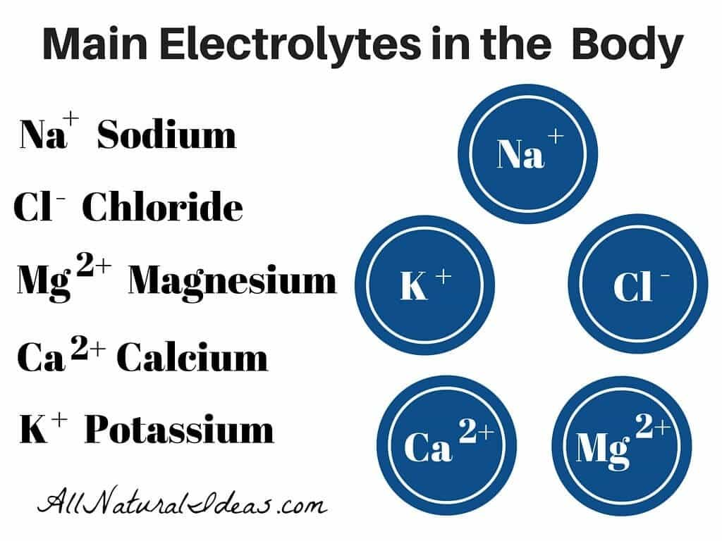 Importance of electrolytes in the body