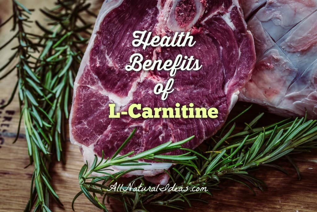 L-carnitine health benefits including anti-aging