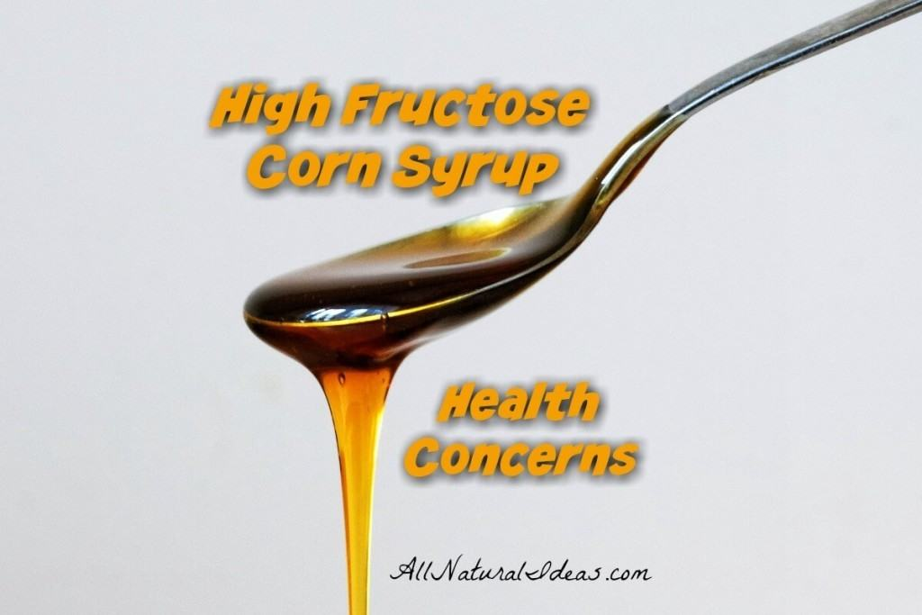 Many may wonder if high fructose corn syrup is really worse than regular sugar. What are the high fructose corn syrup health concerns? | allnaturalideas.com