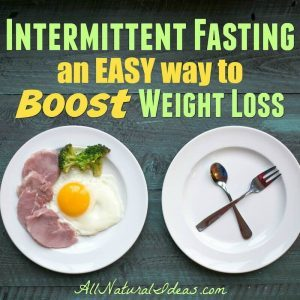 Intermittent fasting diet plan to lose weight