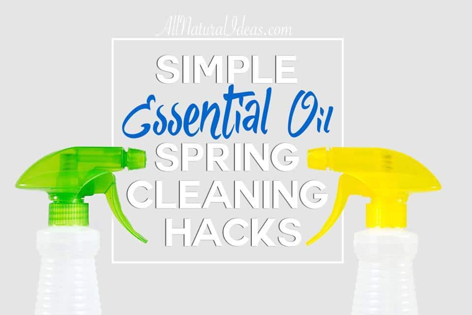 Time to get going on some spring cleaning! Check out these simple essential oil spring cleaning hacks to get the job done quickly!   allnaturalideas.com