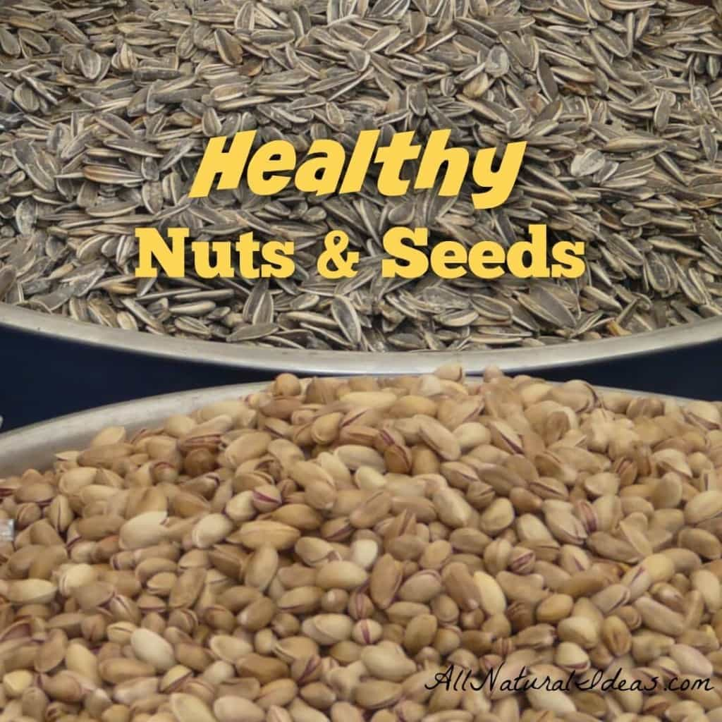 Looking for a way to reduce heart disease? Want to boost your immune system? Try incorporating these 6 healthiest nuts and seeds into your daily diet. | allnaturalideas.com