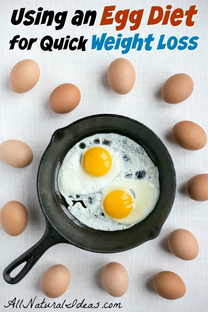 Need To Lose Weight Fast Many Have Had Quick Loss Using An Egg