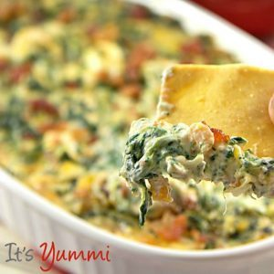 ITS YUMMI cheesy-spinach-dip-with-bacon-recipe-image-718x1221