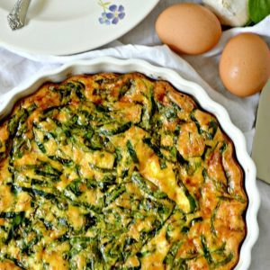 LIVING SWEET MOMENTS curstless-spinach-quiche-cover-1