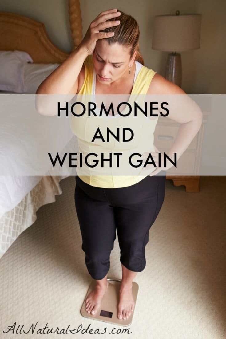 Could it be hormones are the culprit for weight-loss resistance? Let's check out some of the root causes of hormones and weight gain issues. | allnaturalideas.com