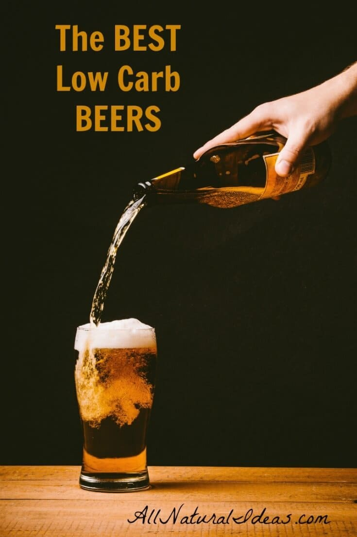 Eating low carb but miss having an occasional beer? If you're craving a brew, let's take a look at some of the best low carb beers to keep you on track. | allnaturalideas.com