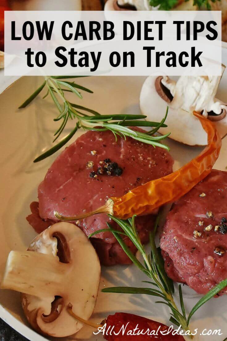 Are you having trouble staying away from high carb foods? Here's some low carb diet tips and tricks that should help keep you on track.