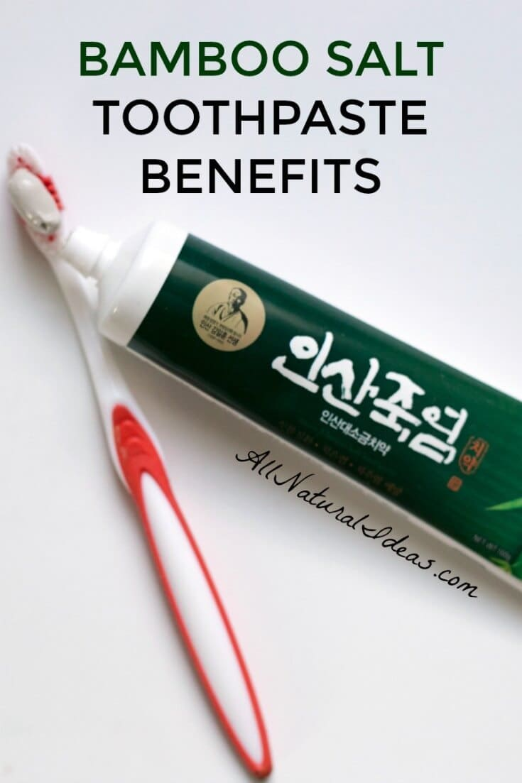 Salt processed in bamboo is used to treat several health problems, including oral ones. Discover the bamboo salt toothpaste benefits provided. | allnaturalideas.com