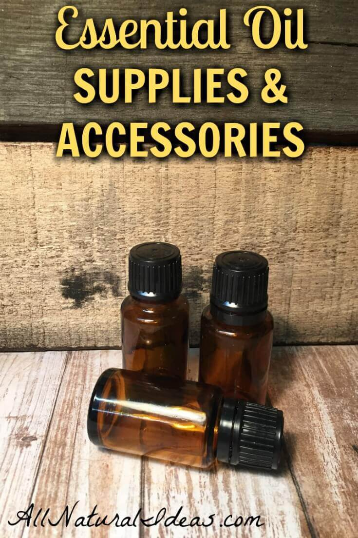 Essential oils offer clinically-proven therapeutic benefits. To get the most out of them, you'll want to invest in essential oil supplies and accessories. | allnaturalideas.com