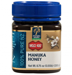 Pure New Zealand manuka honey for healing skin