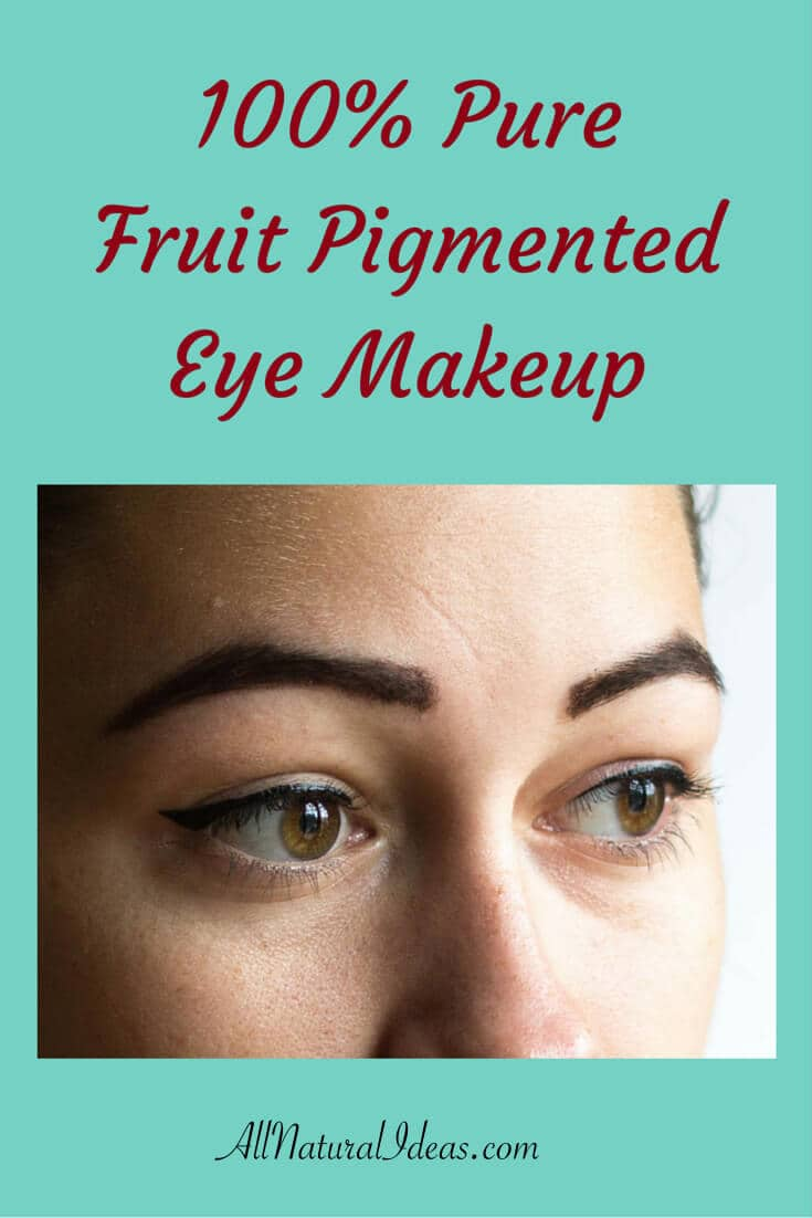 100 Percent Pure Fruit Pigment Natural Eye Makeup