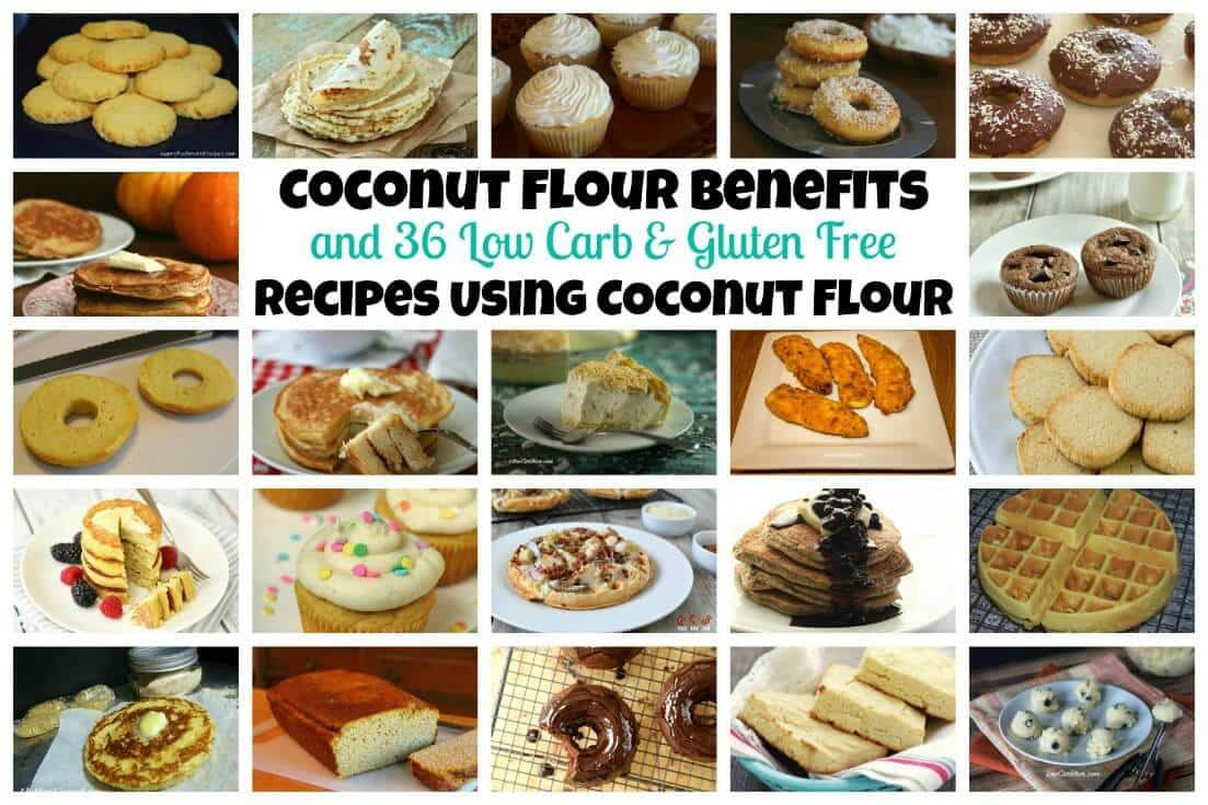 Coconut flour recipes and benefits