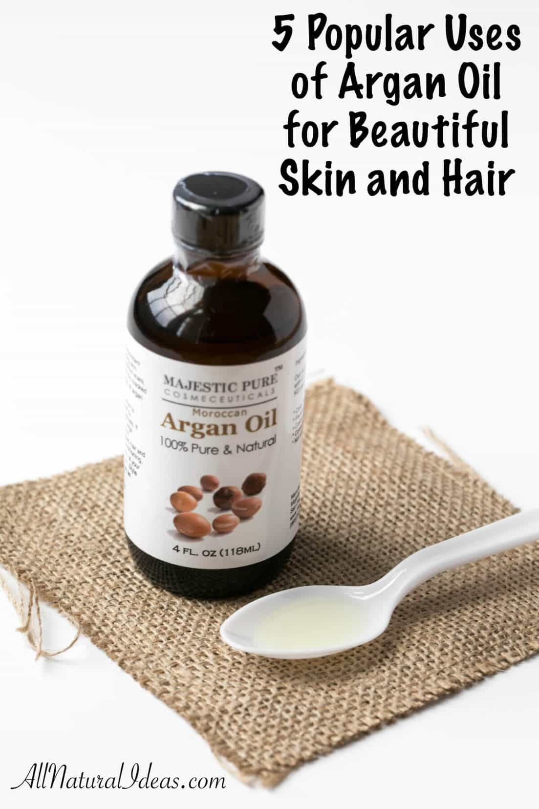It's becoming popular to use argan oil for skin and hair worldwide. Regular use of argan oil is sure to make your skin and hair more youthful and healthier.
