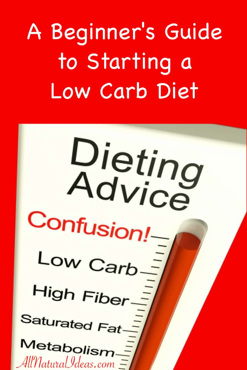 Beginner guide to starting a low carb diet