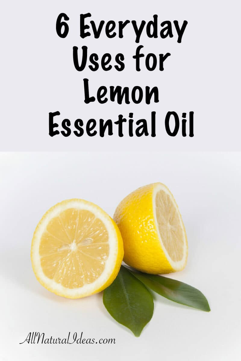 Lemon essential oil benefits: everyday uses