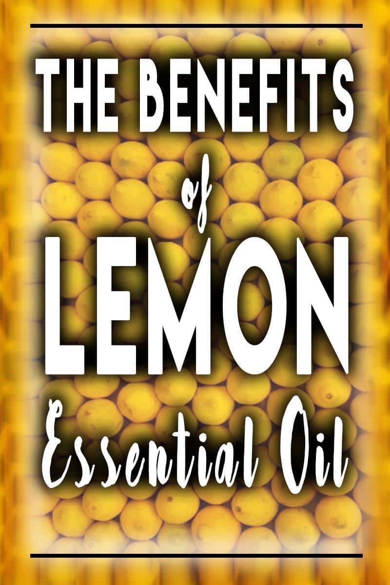 Lemon essential oil benefits are plentiful. Here are six ways you can use inexpensive lemon essential oil in your home every day! | allnaturalideas.com