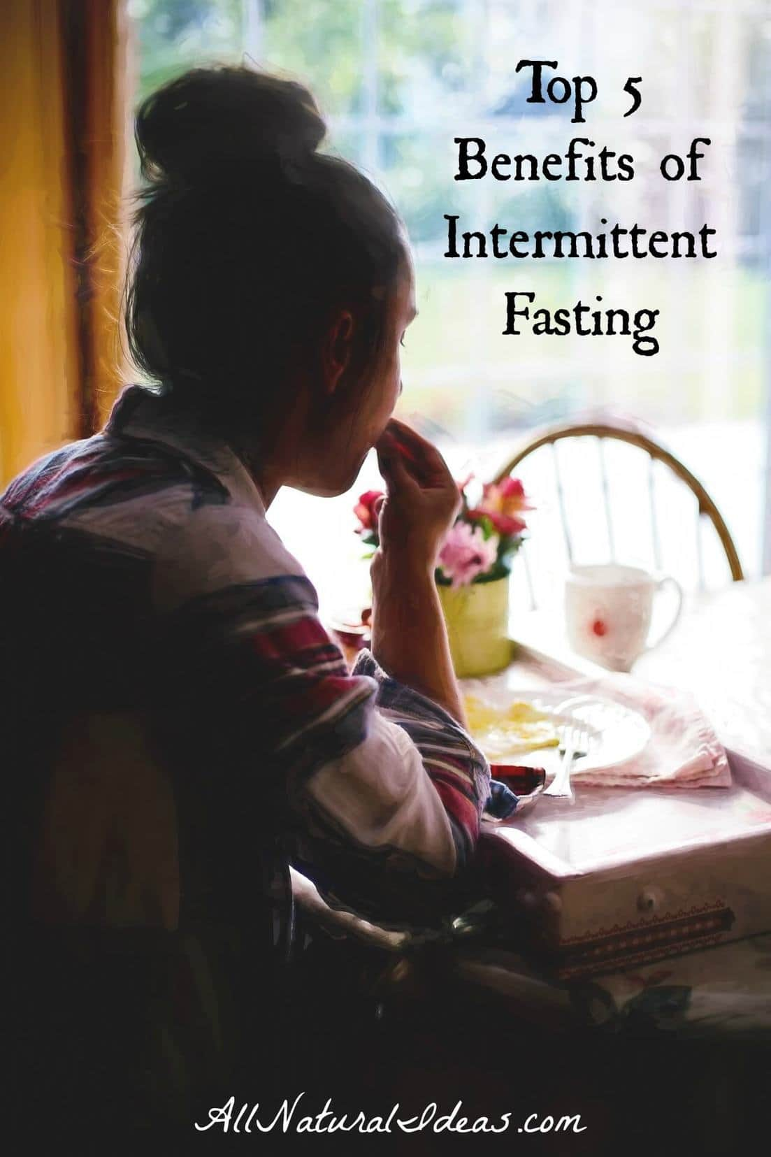 Want to lose weight and boost the functionality of your cells? Check out the top intermittent fasting benefits to boost your health! | allnaturalideas.com