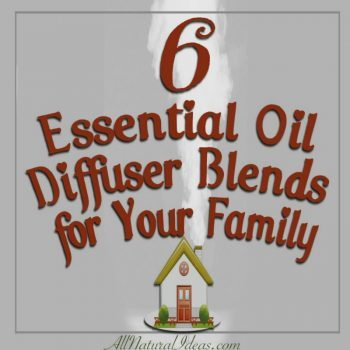 6 Essential Oil Diffuser Family Blends