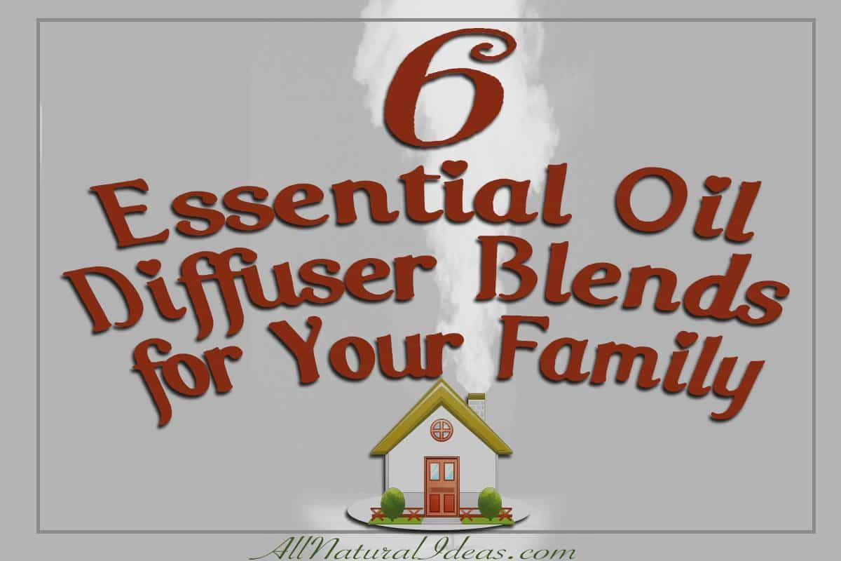 Essential oil family blends for diffuser