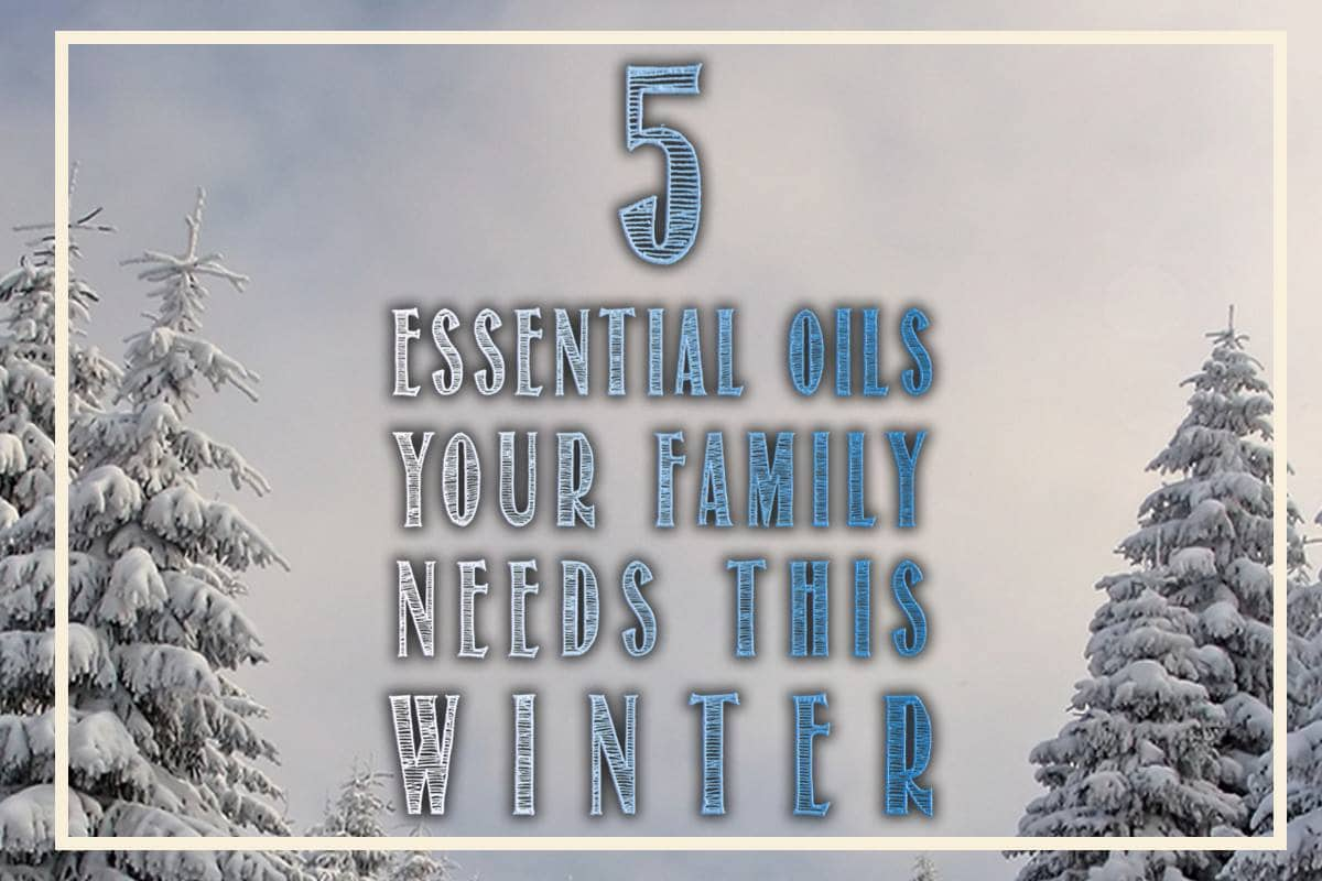 Essential oils for winter immune support