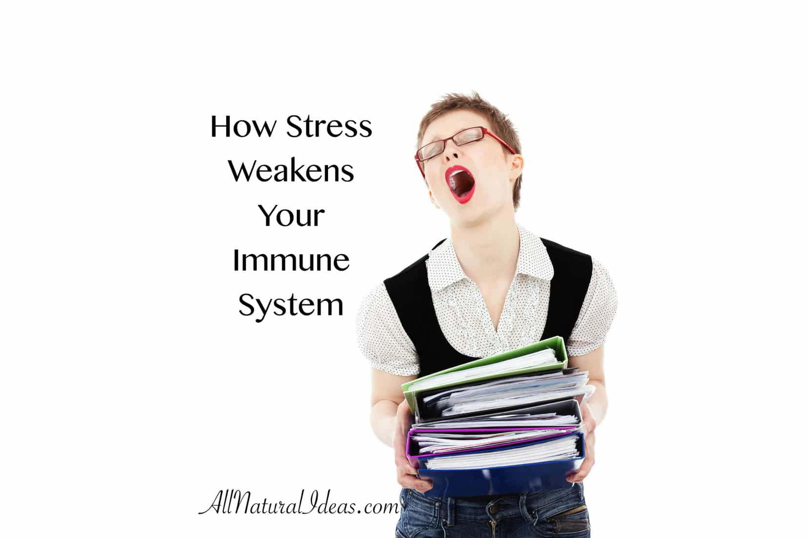 How stress weakens immune system function.