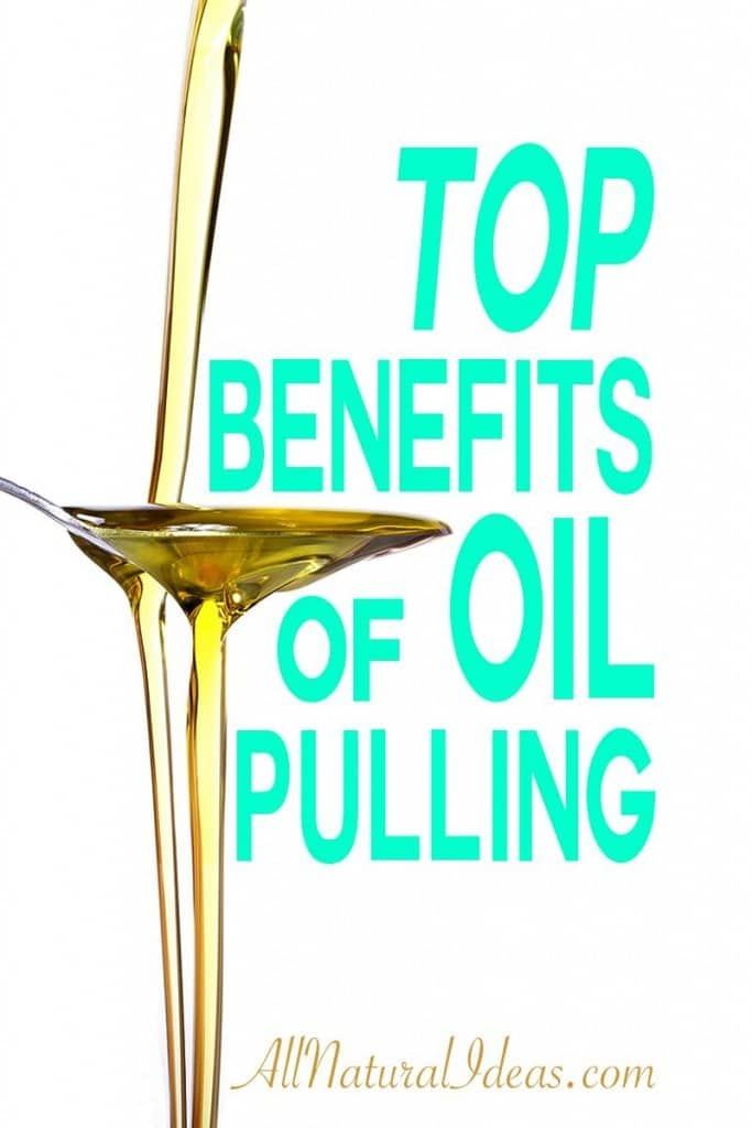An ancient practice of oil pulling has many benefits for oral health and more. Use oil pulling as a natural remedy for health issues. | allnaturalideas.com