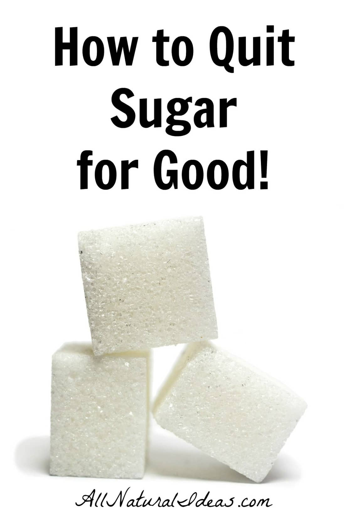 Many of the chronic health problems today originate from sugar. Learn how to quit sugar addiction and detox to lower your risk of chronic diseases. | allnaturalideas.com