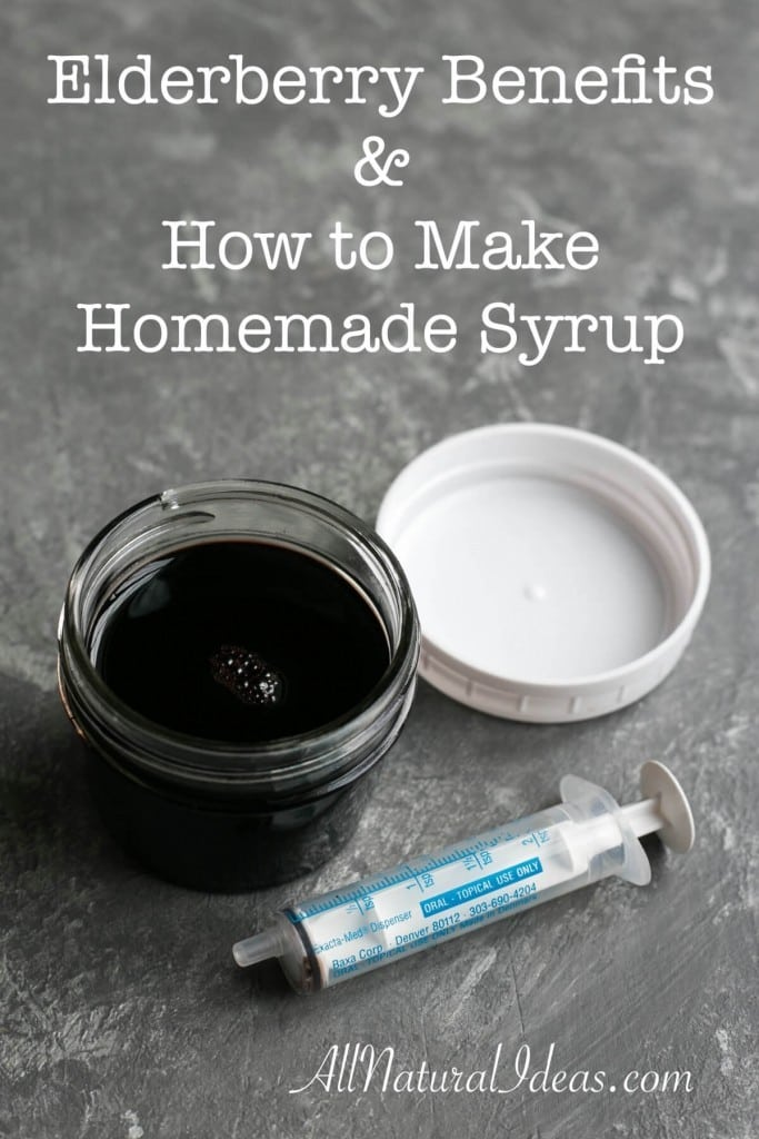 Looking for a natural alternative to fight colds and flus? Tired of the price you pay for natural products in the store? Learn about elderberry benefits and how to make syrup.