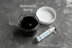 Elderberry benefits and homemade syrup recipe