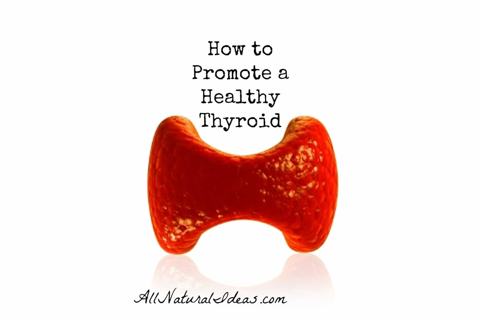 Promoting a healthy thyroid with food and lifestyle