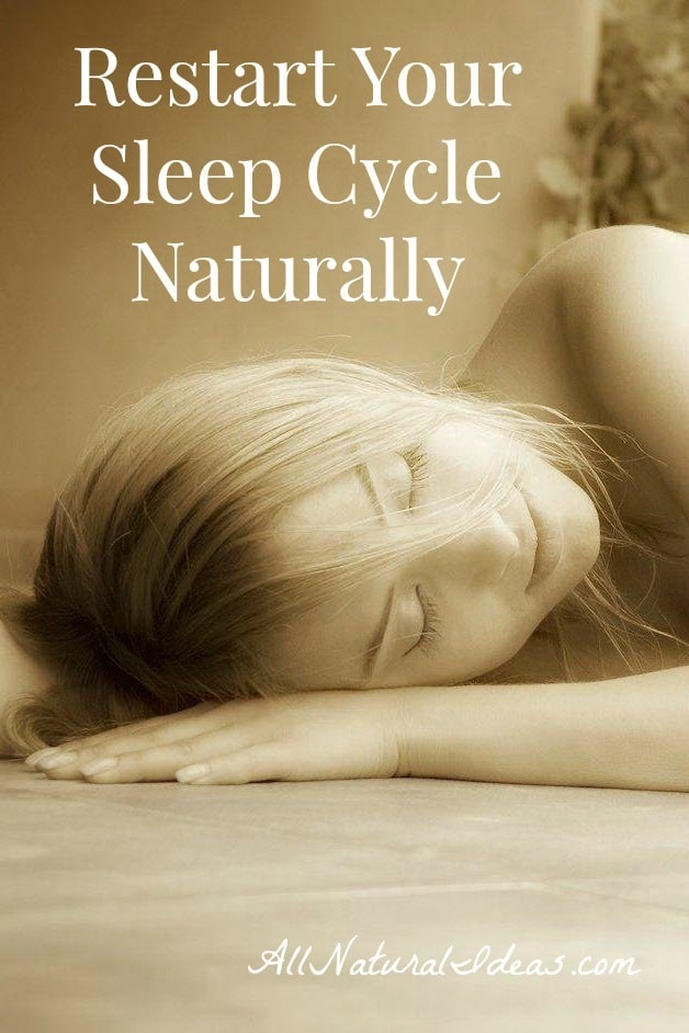 Overly stressed? Working odd shifts? Tossing and turning when you crave sleep? Learn how to restart sleep cycle naturally with these easy tricks!
