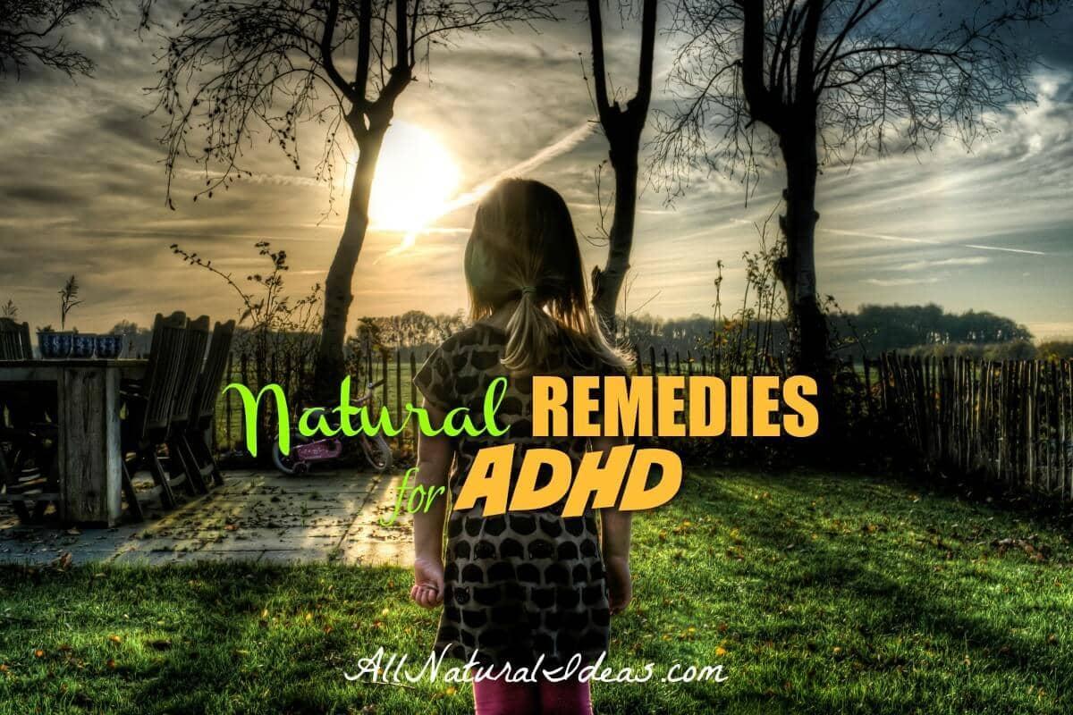 ADHD natural remedies