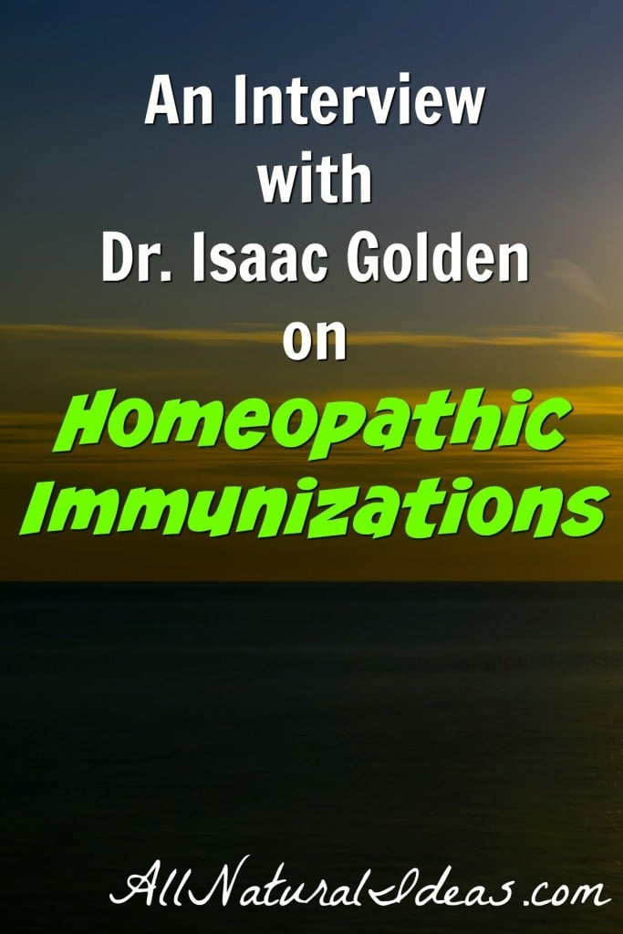 Dr. Isaac Golden is a well known authority in homeoprophylaxis, a safer alternative to vaccines. In this interview, he provides information on the program.