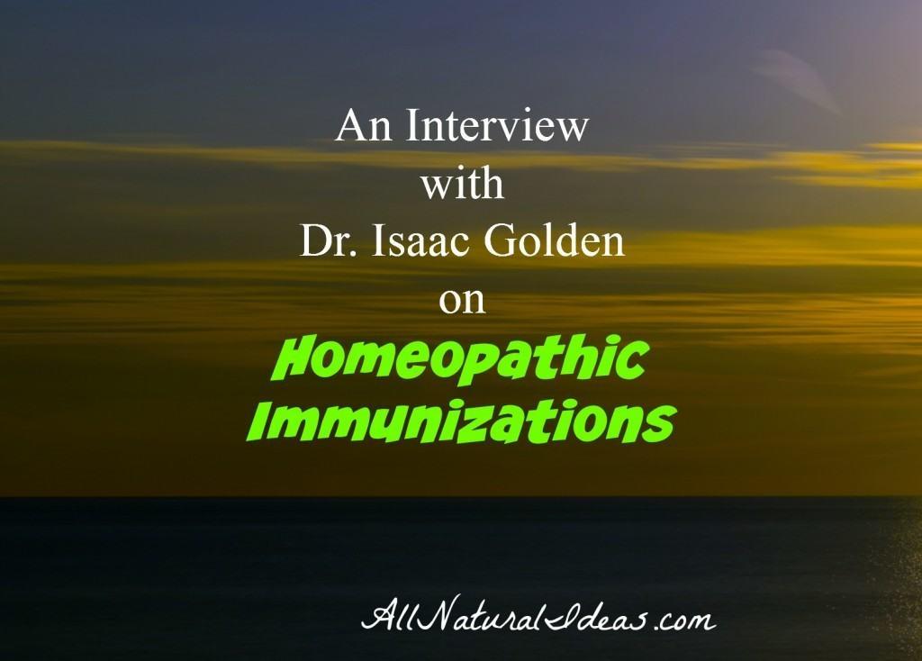 Homeoprophylaxis Dr. Isaac Golden Interview