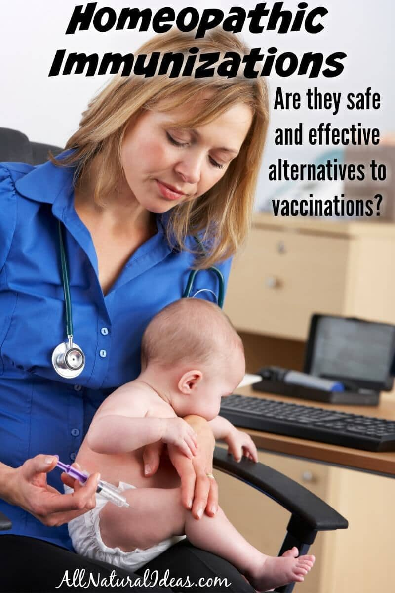 A homeopathic vaccine alternative is available called homeoprophylaxis which uses nosodes for immunizations. Is it safe and effective? | allnaturalideas.com