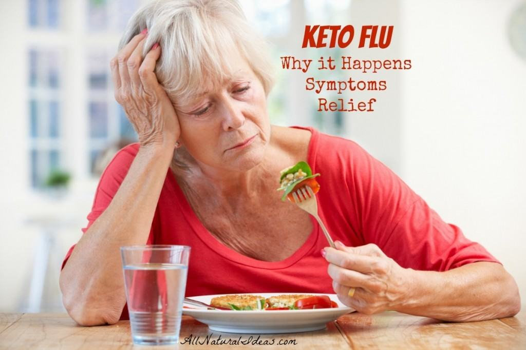 Keto flu why it happens symptoms relief