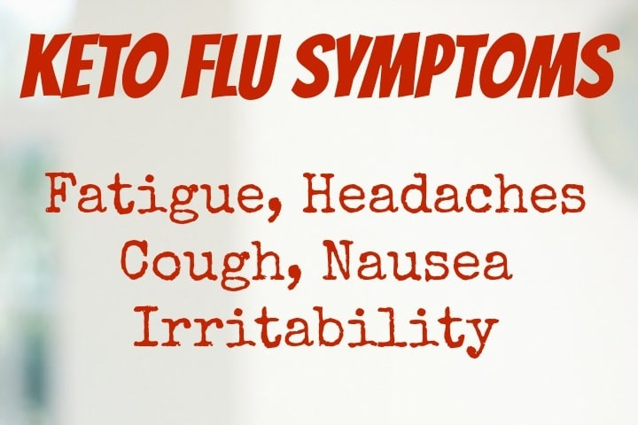 Keto flu symptoms