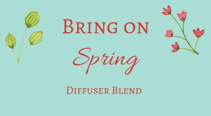 Welcome the warmer weather with these 10 spring essential oil diffuser blends. They are sure to put you a little spring in your step! | allnaturalideas.com