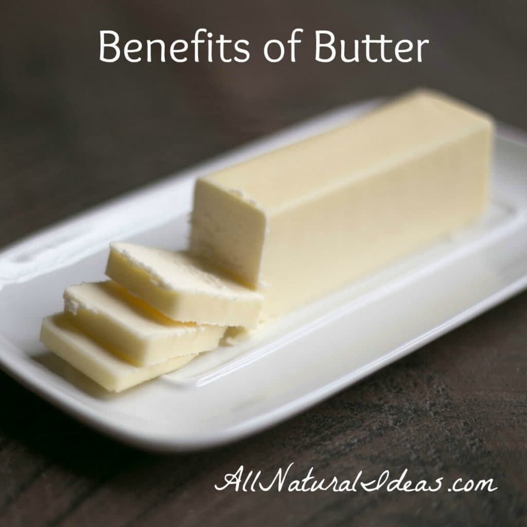 Hear the rumors that butter is bad? It causes heart problems and other issues? Well learn the truth. Check out these amazing butter health benefits. | allnaturalideas.com